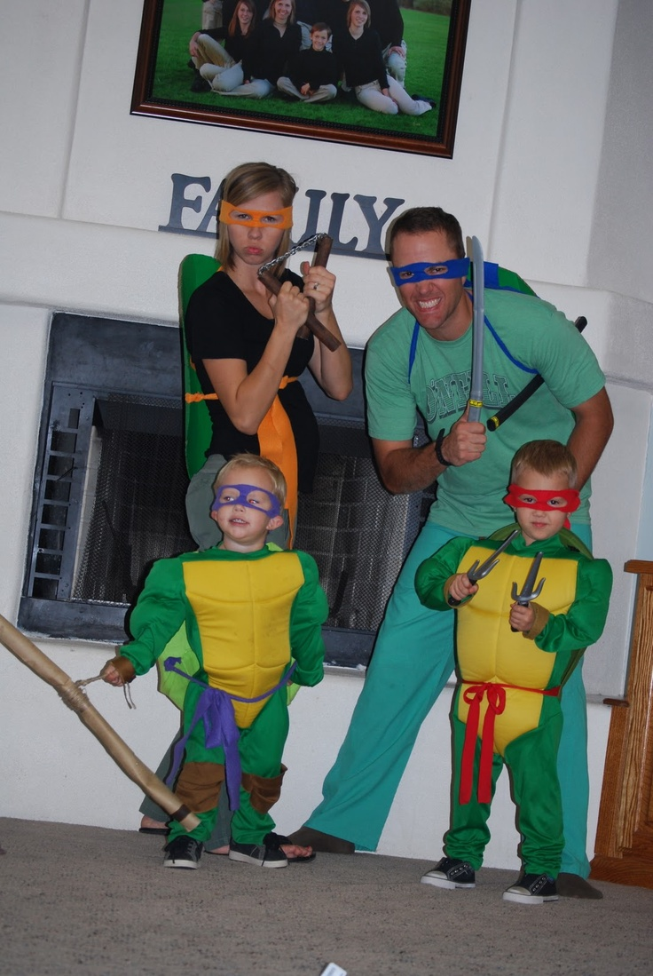 123 best ninja turtles costumes tmnt cosplay images on pinterest family of ninja turtles solutioingenieria Gallery