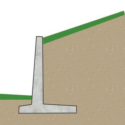 Winkelstützmauer