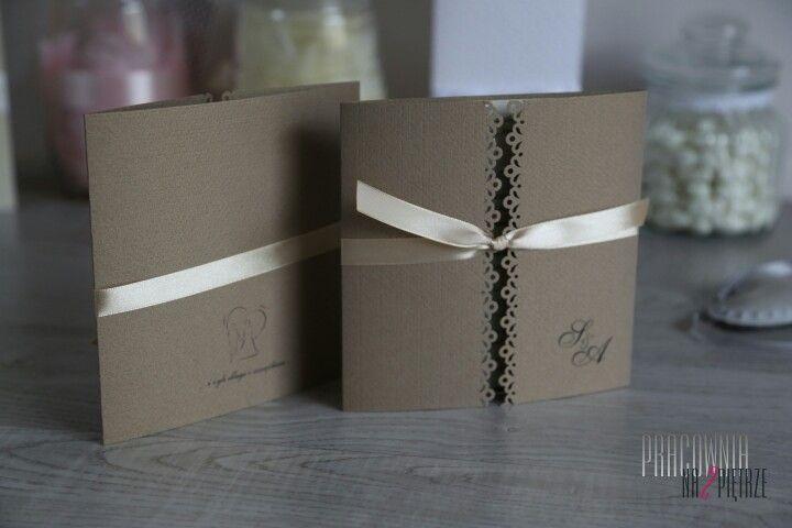 Zaproszenia ślubne / wedding invitations