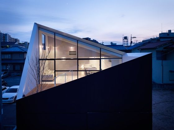Here is a modern home design and minimalist with remarkable architecture by