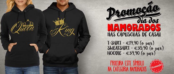 Aproveita a nossa MEGA-PROMOÇÃO nas camisolas de casal! 😍 T-shirts - €19.90 (o par) Sweatshirts - €35.90 (o par) Hoodies - €39.90 (o par) #zizimut #funnytshirts #tshirts #hoodies #sweatshirt #giftshops #personalizedgifts #personalizadas #porto🇵🇹 #tshirtshop #diadosnamorados #valentinesday #gift #prenda #namorados #couple #amor #love