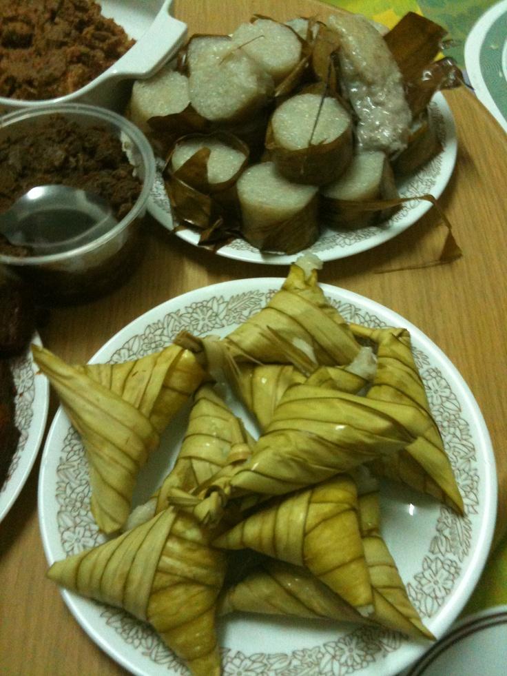 Ketupat, lemang and rendang