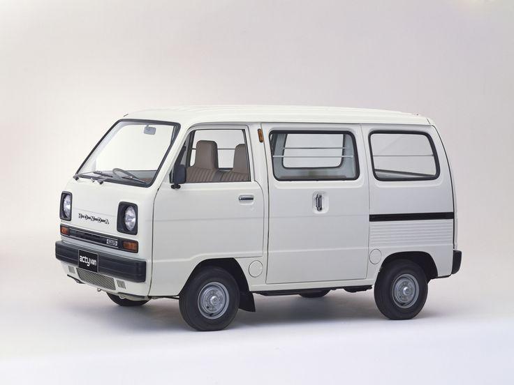 1979 Honda Acty Van. Mine had no windows in the back