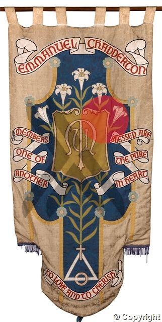 Emmanuel Chadderton Banner. Chadderton, Oldham.