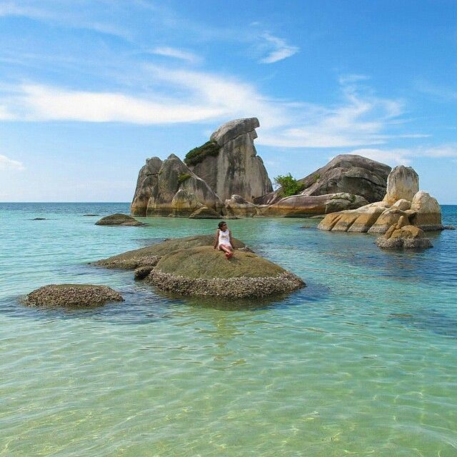 "SUMATRA ISLAND on Instagram: ""#exploresumatra - Photo by @indriyuliani taken at belitung Keep your #exploresumatra hashtag and share your location to give us permission to repost. Thanks!!"""