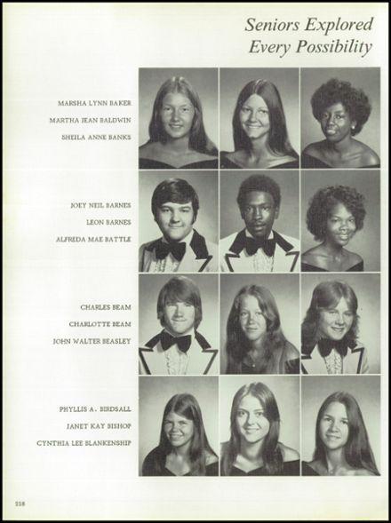 1976 LaGrange High School Yearbook via Classmates.com