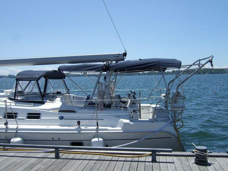 17 best ideas about hunter yachts nightclub design hunter davit system klacko marine tags ocean blue ontario water island mirror