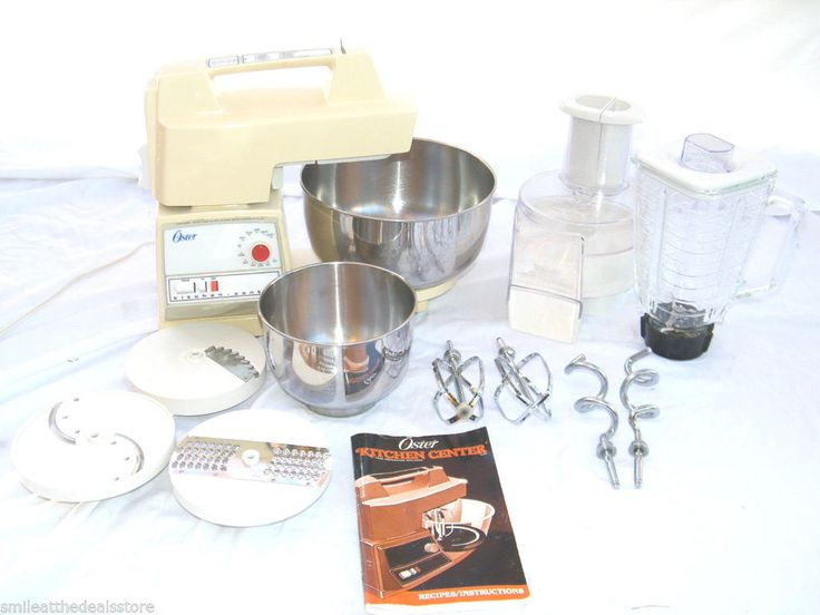 Food Processor For Oster Kitchen Center