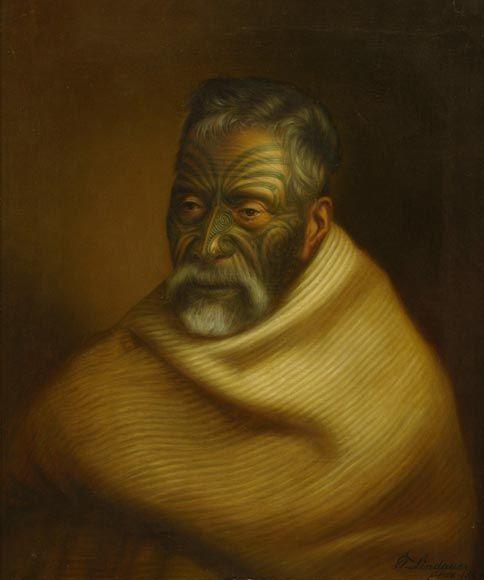 gottfried lindauer paintings - Google Search