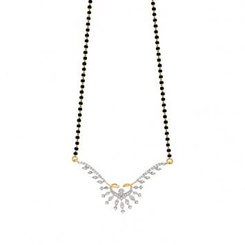 Anamika #diamond #gold #mangalsutra