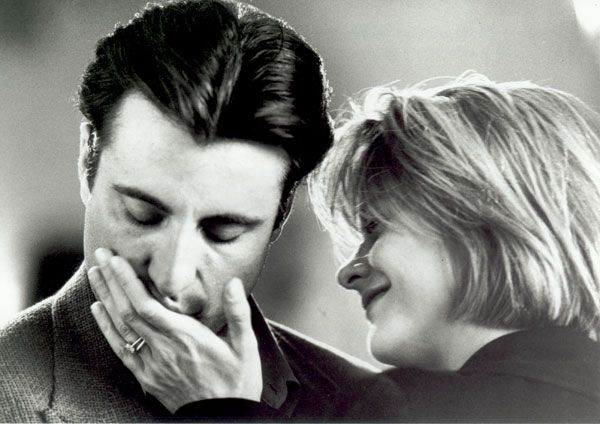 """Meg Ryan and Andy Garcia, """"When a Man Loves a Woman"""" He was so amazing in this movie. This movie always makes me cry. It's so good."""