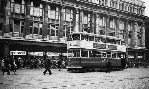Dublin 1940s at Cleary's Department Store.