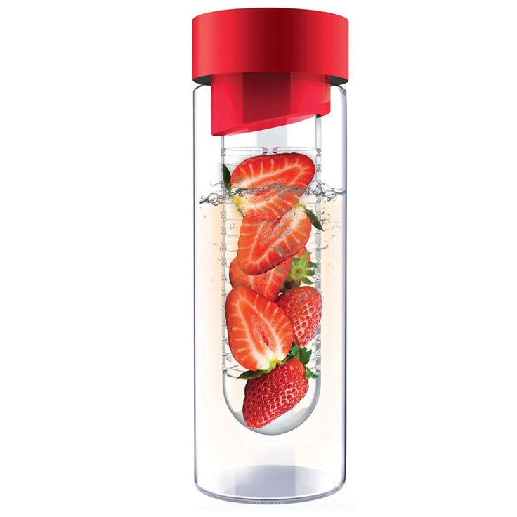 Flavour It Fruit Infuser In Red
