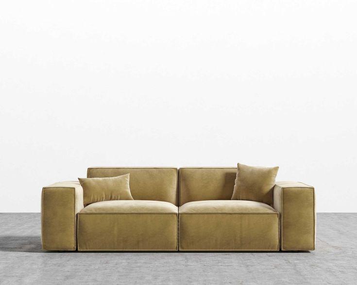 Porter Sofa in 2020   Sofa, Rove concepts, Mid century ...