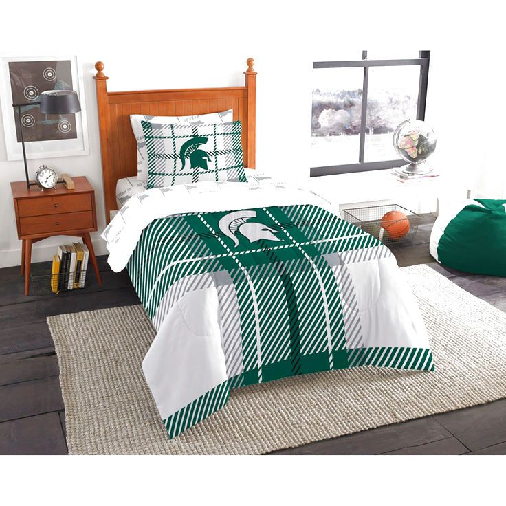 Michigan State Spartans The Northwest Company Soft & Cozy 5-Piece Twin Bed in a Bag Set - $99.99