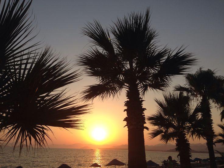 Sunset - Calis beach, Fethiye, Turkey