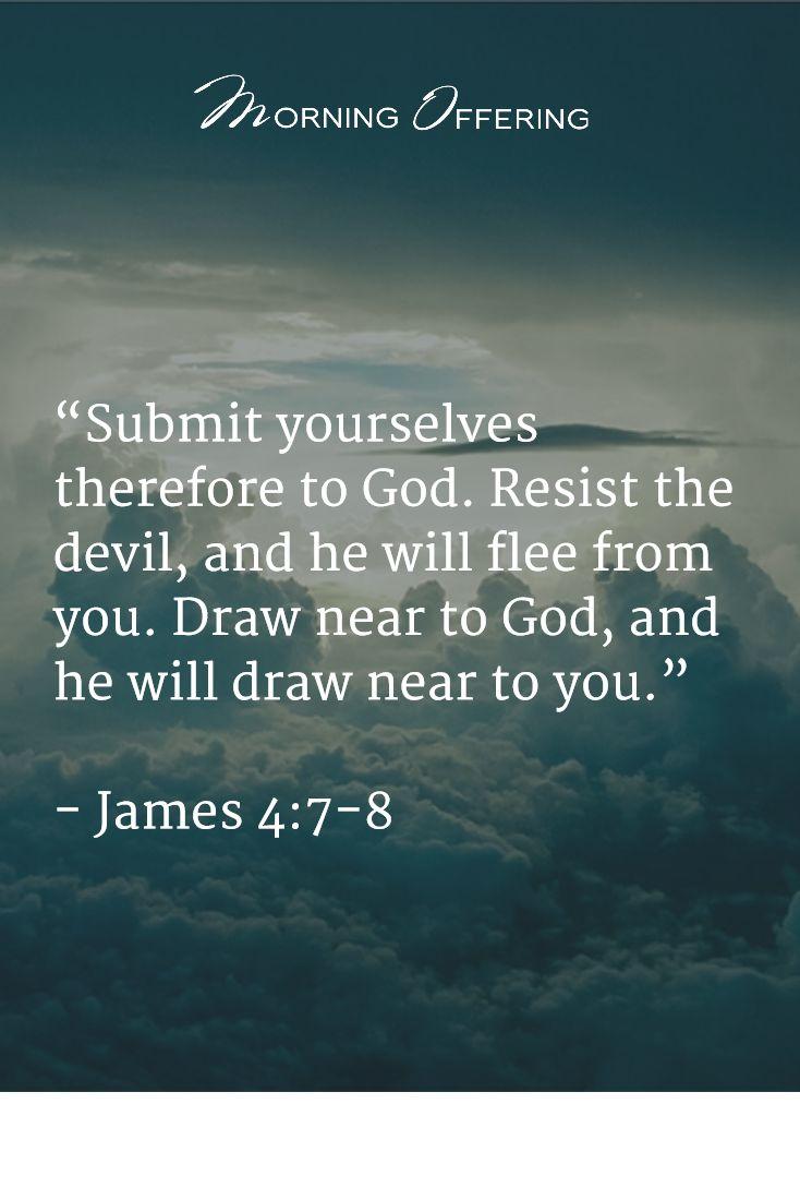 James 4:7-8