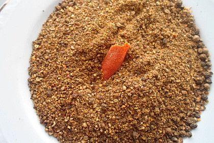 Orangenpfeffer mit Kurkuma und Kardamom, ein leckeres Rezept aus der Kategorie Gewürze/Öl/Essig/Pasten.