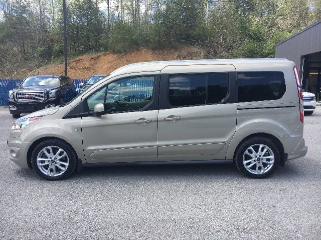 2014 Ford Transit Connect Wagon Titanium Lwb Fwd With Rear