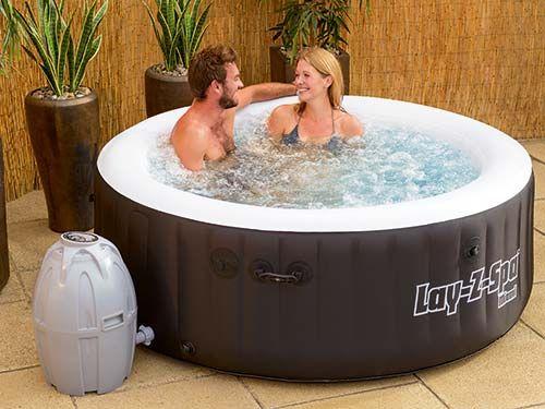 die besten 25 whirlpool outdoor aufblasbar ideen auf. Black Bedroom Furniture Sets. Home Design Ideas