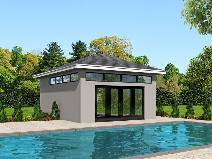 Best 20 pool house plans ideas on pinterest small guest for Modular pool house