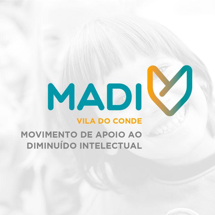 Logotipo criado para o MADI – Movimento de Apoio ao Diminuído Intelectual