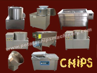 Small potato chips plant have potato washing and peeling machine, potato chips machine, potato chips blanching machine, potato chips dehydration machine, potato chips frying machine, potato chips de-oiling machine,ect. This plant are made of high quality stainless, easy to clean and maintain, and that convenient to operate with high working effciency. We offer three models(30kg/h, 60kg/h, 150kg/h) for various potato chips sellers. If there is a need to gmail to us…