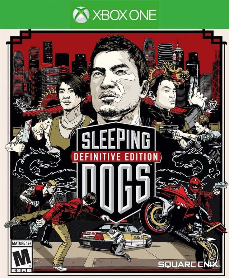 *NEW & SEALED* XBOX ONE SLEEPING DOGS: Definitive Edition Artbook Packaging
