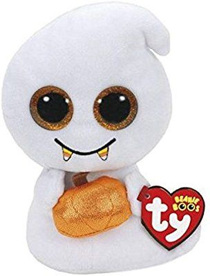 3d5ef4e16c3 Amazon.com  TY Beanie Boo - Scream Halloween Ghost Plush Toy (5.9 Inches)   Toys   Games