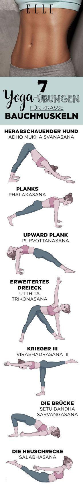 7 Yoga-Übungen, die für mehr Bauchmuskeln sorgen – Fitness