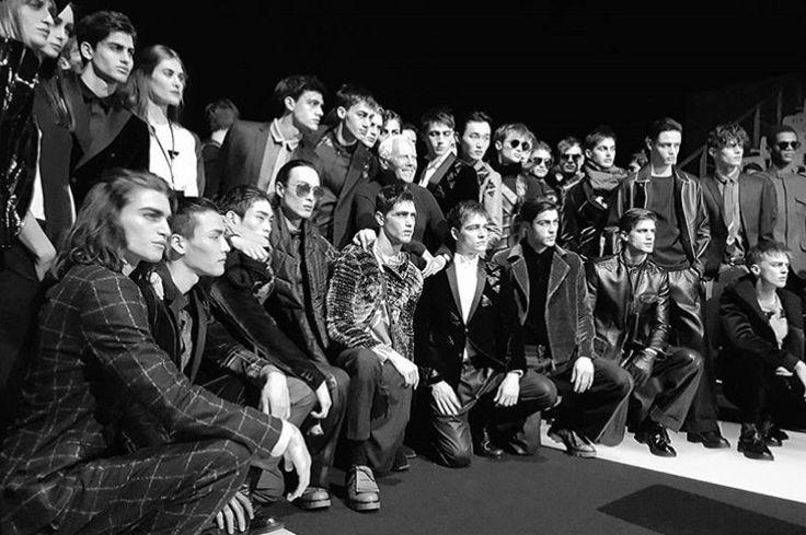 Myriam Volterra goes to Armani Fashion Show