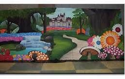 Please visit the web. there is a lot of ideas for deco alice in wonderland set design ideas - Bing Images