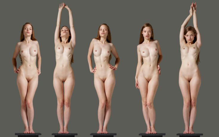 Cutout Of Beautiful And Naked Woman Body 1