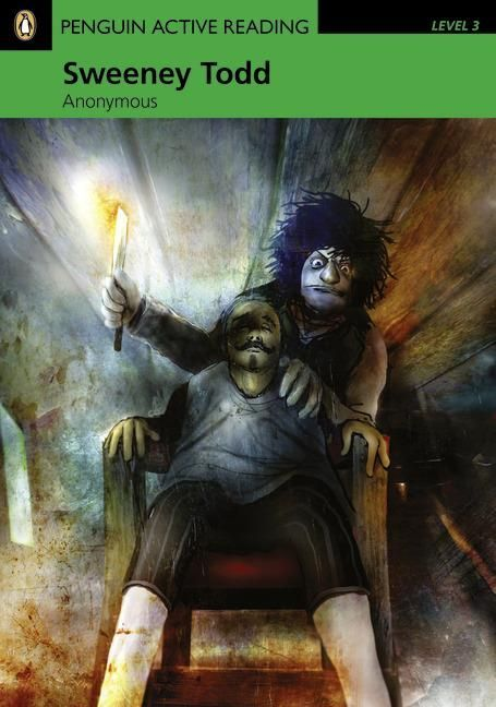 2010 Nancy Tylaor - Sweeney Todd (book & CD-ROM) [Penguin 9781408232033] illustrator: Alexander Jansson #bookcover