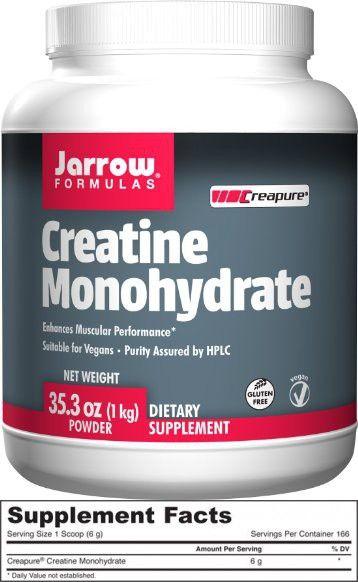 Jarrow Formulas - Creatine Monohydrate Powder - 1000 gm - 2.2 lbs
