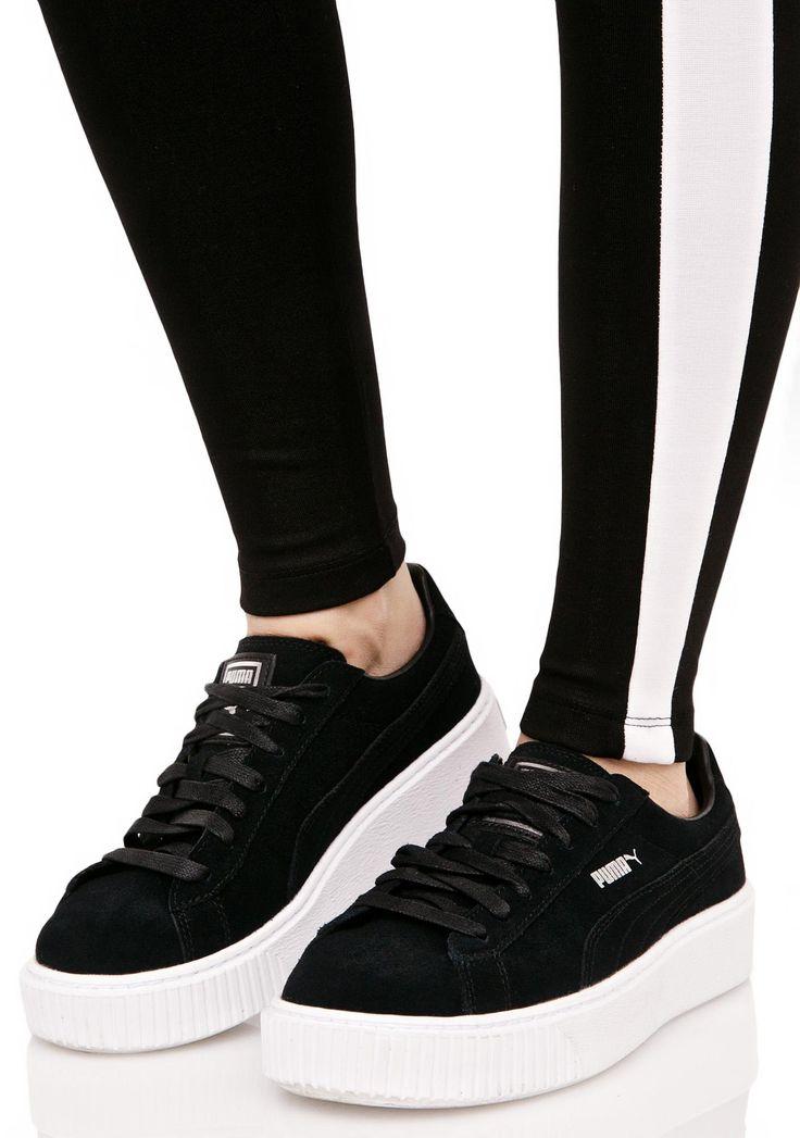 Puma Platform Sneakers Black