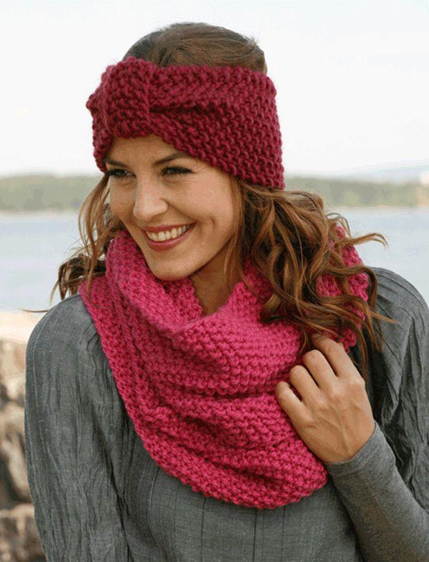 Strik pandebånd og halsedise | Femina