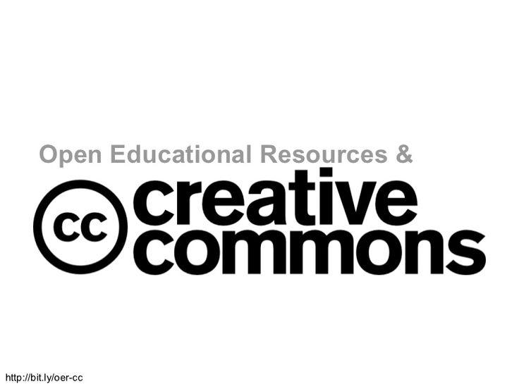 Open Educational Resources & Creative Commons - how to use, share, define