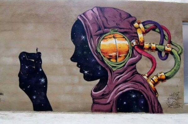 Street Art by Deih, located in Valencia, Spain