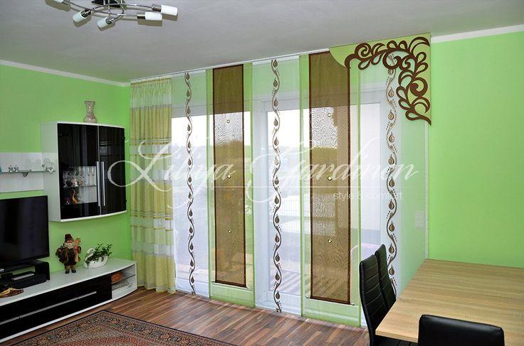 Wohnzimmer « Gardinen Liliya Gardinen Pinterest Gardinen - gardinen set wohnzimmer