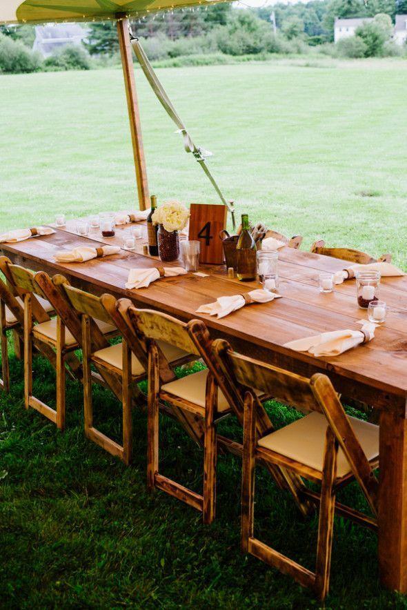 Backyard Maine Wedding. Backyard WeddingsOutdoor WeddingsCountry ...