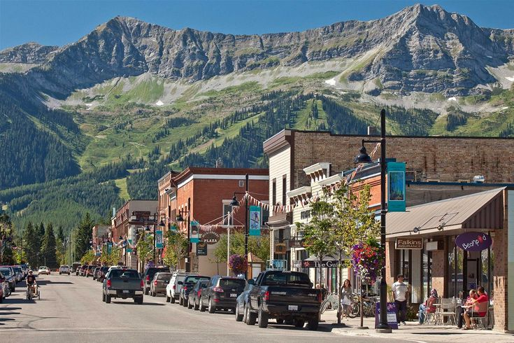 The heart of Fernie's vibrant community is the small but perfectly formed Historic Downtown.