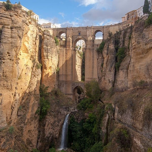 The Puente Nuevo, Ronda, Spain - ELLEDecor.com
