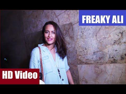 Sonakshi Sinha at the special screening of FREAKY ALI. See the full video at : https://youtu.be/pneidkiIZhQ #sonakshisinha #freakyali #bollywood #bollywoodnews #bollywoodnewsvilla #latestbollywoodnews