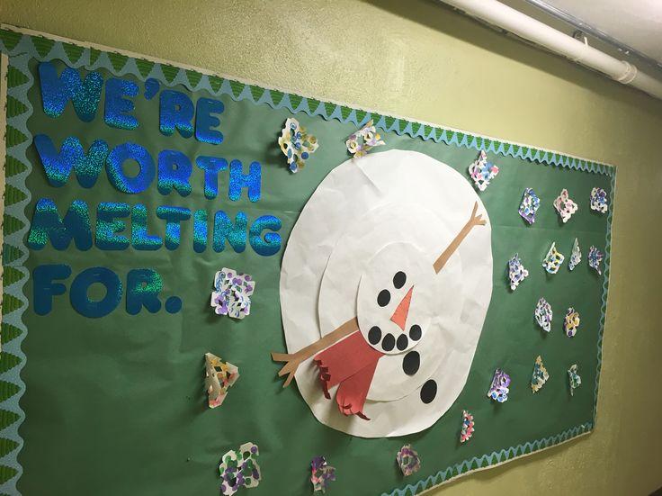 Winter bulletin board | My projects | Pinterest | Bulletin boards ...