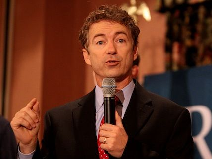 "Rand Paul ""Assures"" Evangelicals That He Doesn't Want to End the Drug War"