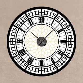 Sticker Horloge Cathédrale