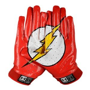 flash football gloves - Youth M