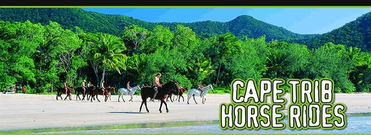 Cape Trib Horse Rides...Great fun :)