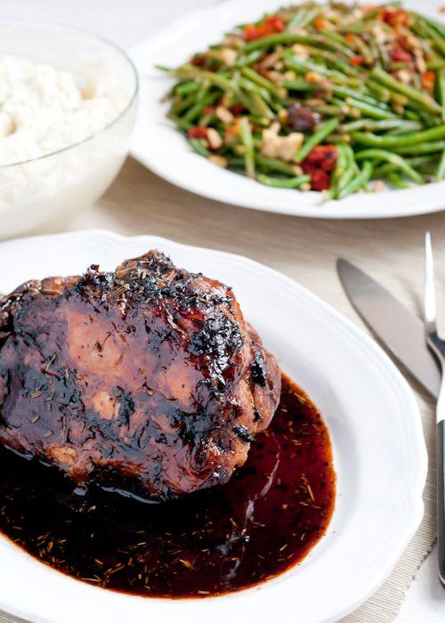 Slow-Cooker Herbed Balsamic Pork Roast | Recipe | Pork ...